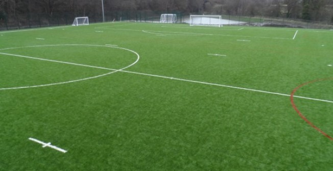Rugby Pitch Surfacing in Path of Condie