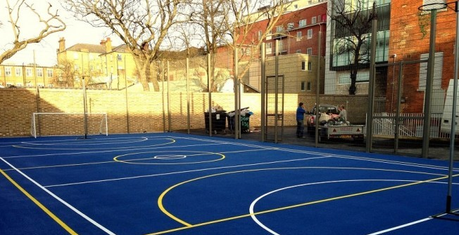 Macadam Sports Court in Surrey