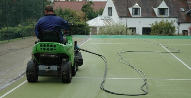Tennis Court Maintenance in East Sussex