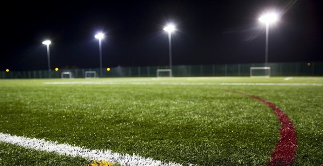Artificial Pitch Construction in Swansea