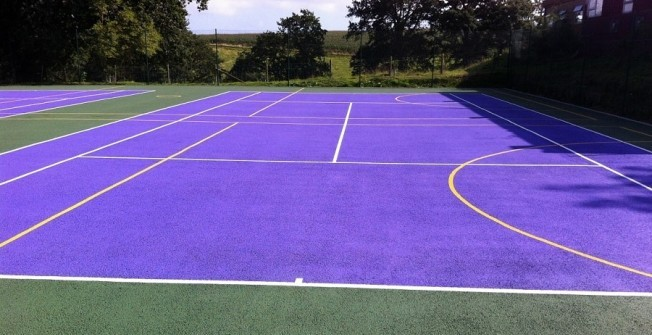 Macadam Tennis Courts in East Riding of Yorkshire