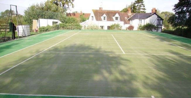 Tennis Court Surfaces in East Riding of Yorkshire